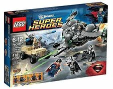 NEW SEALED BOX Marvel Superheroes LEGO 76003 Superman: Battle of Smallville