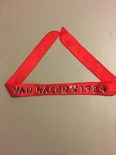 Vintage Van Halen 1984 Headband Bandana Scarf Wall Hanging