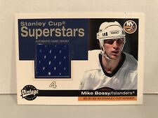 2001-02 MIKE BOSSY Upper Deck Vintage Stanley Cup Superstars #SC-MB Hockey Card!