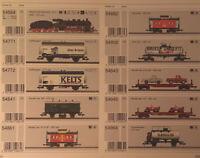 Rare Marklin Dealer Full Catalog 2006 Numerical Accompanying Assortment Manual