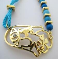 Unbranded Rhinestone Alloy Plastic Costume Bracelets