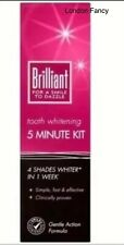 Brilliant 5 Minute Tooth Whitening Kit