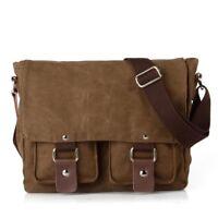 Vintage Canvas DSLR SLR Camera Bag Travel Shoulder Messenger Bag for Canon Nikon