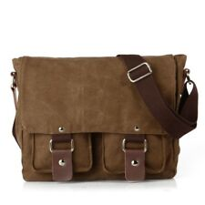 Vintage Canvas DSLR SLR Camera Bag Travel Shoulder Messenger Bag for Canon Nikon