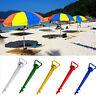 Beach Garden Sun Shade Umbrella Holder Parasol Ground Earth Anchor Spike Stand