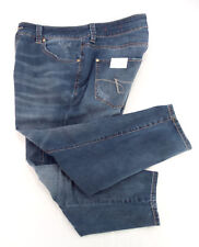 JAG Jeans Skinny Leg Ankle Mid Rise Distressed Blue Stretch Denim Size 18W NWT