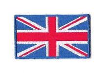 UNITED KINGDOM FLAG IRON ON / SEW ON PATCH Embroidered Badge WALES ENGLAND PT34