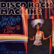 "7"" DISCO ROCK MACHINE aka HOT R.S. You Really Got Me CV KINKS Disco ARIOLA 1979"