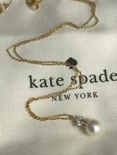 New Kate Spade Pearls of Wisdom pendant Necklace beautiful gift