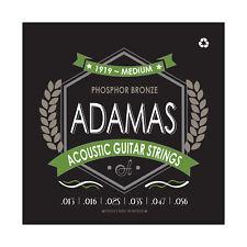 Adamas Acoustic Guitar Strings Medium .013-.056