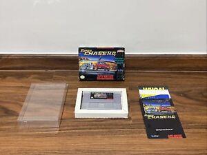 Super Chase H.Q. Super Nintendo SNES Complete CIB