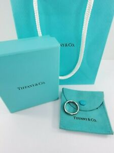 Tiffany & Co Lucida Platinum 4mm Diamond Wedding Band Ring - Size 8