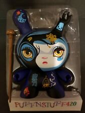 """Kidrobot Dunny 8"""" Supermagical 64colors w/hand carved wood staff LE of 90"""