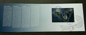 [SJ] Switzerland Bats 2012 (folder set) *odd *unusual *3D effect
