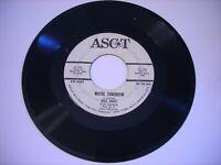 PROMO Dale Davis & the Woodsmen Maybe Tomorrow / Old Blue 1963 45rpm