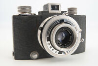 Vintage SEM Baby French Made 35mm Camera with Som Berthiot Flor 45mm Lens V04