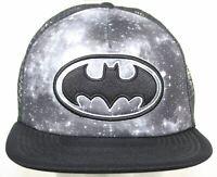 NWOT Batman Black Trucker Hat - DC Comics Snapback Cap - Super Hero Fan Wear