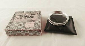 NEW* Nikon Nippon Kogaku Close Up Lens #11 for Nikkorex Auto 35 Nikkor 48mm Lens