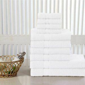 LUXURY 100% EGYPTIAN COTTON TOWEL 10 BALE SET 400GSM HAND BATH TOWEL JUMBO SHEET