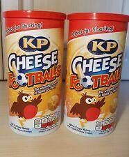 2 packs of KP CHEESE FOOTBALLS CHRISTMAS CADDY, 142g each,exp 11/2011