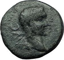 AUGUSTUS 27BC Philippi Macedonia PRIESTS Founding City Oxen Roman Coin i59335