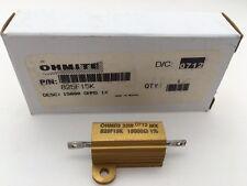 (3 pcs) 825F15K Ohmite, 25 Watt 15K Ohm 1%, Wirewound Resistor (Chassis Mount)