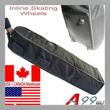 """A99 Golf T07 Travel bag cover tour luggage wheeled carry new black 51""""x14""""x9"""""""
