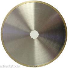 """8"""" x .025"""" Supreme Sintered Continuous Rim Diamond Lapidary Blade - 1"""" Arbor"""