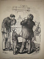 1872 Harper's Weekly December 28 Nast Massachusetts says to forget the Civil War