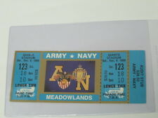 1989 Army vs Navy Ticket Football Game