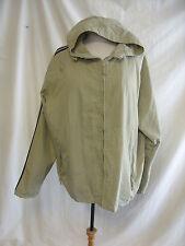 Mens Jacket - Urban Spirit, size XXL, dark beige, hooded, casual, marks - 7575