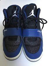 Air Jordan V IV III Basketball Shoes Size 8.5 Black And Blue
