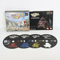 SD GUNDAM G GENERATION F PS1 Playstation p1