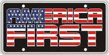 America First Souvenir License Plate SVUSA1ST05