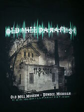 PARANORMAL FESTIVAL T SHIRT Old Mill Haunted Supernatural Investigation Dundee M
