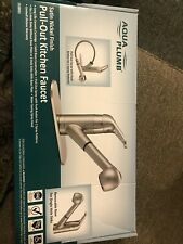 kitchen faucet pull out spray head By Aqua Plumb New In Box