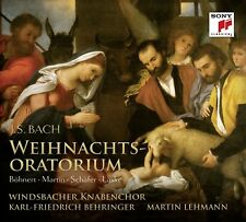WINDSBACHER KNABENCHOR -WEIHNACHTSORATORIUM (GA)  2CD NEW+ JOHANN SEBASTIAN BACH
