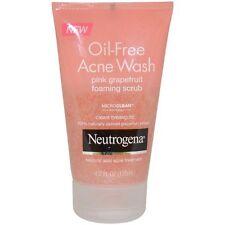 Neutrogena Oil-Free Acne Wash Pink Grapefruit Foaming Scrub 4.2oz Each