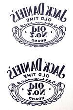 1 sheet Jack daniels old no 7 Temporary Tattoo  JD001
