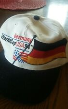 Vintage Germany World Cup USA 1994 Snapback Hat Cap Soccer Germany Flag
