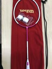 Wilson FIERCE CX9000J CV Badminton Racket Misaki Matsutomo Model w/ Storage Bag