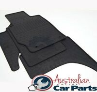 MITSUBISHI TRITON Floor Mats Rubber 2016- MQ Thick version Dual Cab New Genuine
