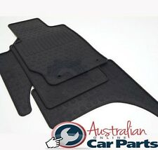 MITSUBISHI TRITON Floor Mats Rubber Dual Cab MN ML MQ New Genuine 2007-2017