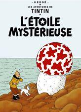 Affiche Offset Tintin L'étoile mystérieuse Moulinsart