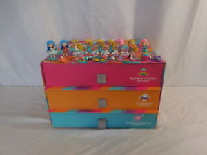 Party Pop Teenies Dolls + Accessories  and  3 Drawer box