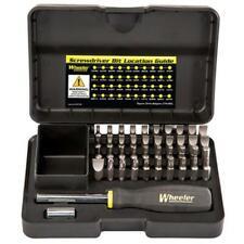 Wheeler 954621 Professional Gunsmithing Screwdriver Set 43 Piece