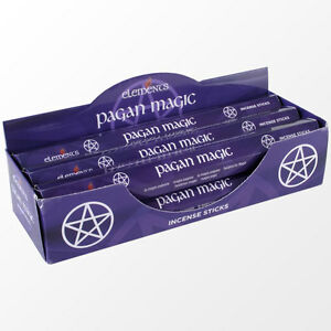 Elements/Stamford Pagan Magic Incense Joss sticks. 20 sticks, 1 pack.