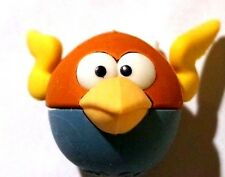 NEW! Angry Birds Space Lightning Bird Puzzle Eraser Figure! AWESOME :)