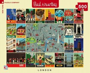 London Collage 500 Piece Puzzle 457mm x 610mm (nyp)