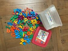 Alpha Magnets Letters & Numbers, 126 Magnetic Pieces Education Homeschool